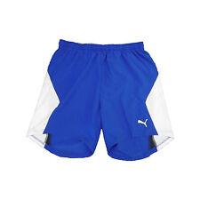 Mens Puma Sports Shorts Blue/White