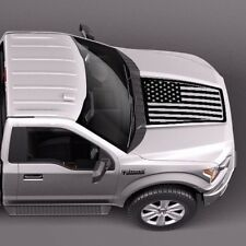 Ford F-150 2015-2018 USA Flag hood graphics side stripe decal sticker