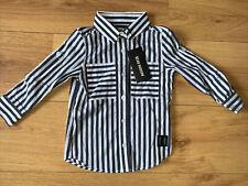 Beau Hudson Stripe Shirt Size 9 Bnwt