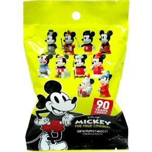 Disney Mickey Sofvi Puppet Mascot Figure toy Japan OFFICIAL 90 years of magic