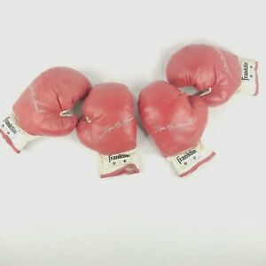 80's Sugar Ray Leonard Kids Boxing Gloves 2 Pair of Franklin Boxing Gloves 1775