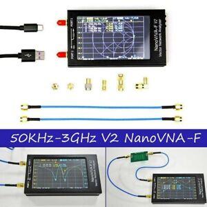 Digital 4.3in 50KHz-3GHz Nano VNA-F VNA V2 Network Antenna Analyzer With  Cover