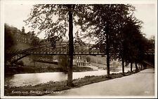 Shrewsbury England West Midlands AK ~1930 Kingsland Bridge Brücke Bauwerk River
