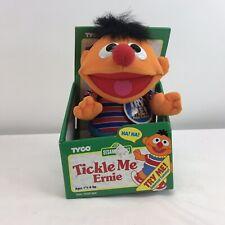 Tyco Tickle Me Ernie Plush Doll Vintage 1996 Laugh Shake New