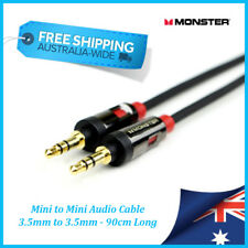 MONSTER CABLE 3.5mm to 3.5mm Cable - iCable 800 - 90cm / 0.9mtr - GENUINE - New