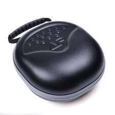 Universal Black EVA Over-Ear Headphone Headset Carrying Hard Case Bag