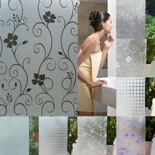 White Frosted Window Film Frost Etched Glass Sticky Back Plastic 45cm x 2m
