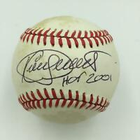 "Kirby Puckett ""Hall Of Fame 2001"" Signed American League Baseball PSA DNA COA"