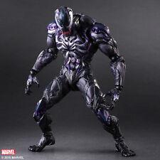 "Marvel Universe Play Arts Kai Venom Action Figure toys 10"" PVC Statue Xmas Gift"