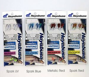 Hayabusa Whiting Rigs Twin Pac Free Postage Bulk buy and save