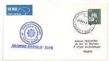 VV280 1984 Nueva Zelanda Aukland cubierta de Francia {samwells-cubre}