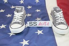 Shoes Converse All-Star (Cod. SS1091) usato N.40 basso Woman shoes polka dot
