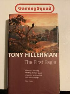 The First Eagle, Tony Hillerman HB Book, Supplied by Gaming Squad