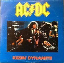 AC/DC - Kissin' Dynamite LP - EX/EX+ 1988 - 2 LP Set - German Press - Rare Live