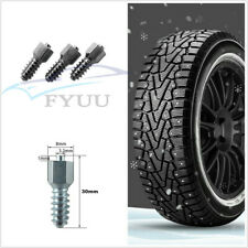 50 Pcs 30*8mm Car SUV Tungsten Carbide Tires Stud Screw Wheel Tyres Chains Studs