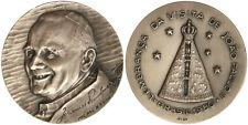 Medaglia Papa Giovanni Paolo II° Visita Brasile opus Medici #KP442