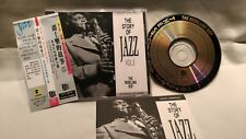 The Story of Jazz Volume 5 - The Rebelling Bop, 1990 CD made in Japan, ex cond