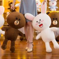Giant Big Brown Bear Plush Soft Toy Doll Stuffed Animal Bear Baby Xmas Kids Gift