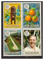 16286) COOK ISL.  MNH** Nuovi** 1983 Commonwealth day 4v