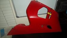 NOS 1998-2002 Yamaha YZF R6 Lower Cowling Fairing Cover  RED 5EB-28395-00