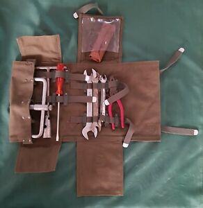 De Tomaso Mangusta bag tool kit pliers wrench tire wheel spark plug screwdriver