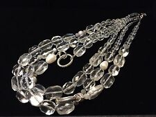 Silpada N1789, Freshwater Pearl, Quartz, Agate, Seed Bead & Sterling Necklace