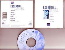 NIVEA Essential Soul PROMO CD Martha Reeves Chi-Lites Sam & Dave Ben E King