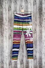 Desigual Womens Legging Multicoloured Striped size M