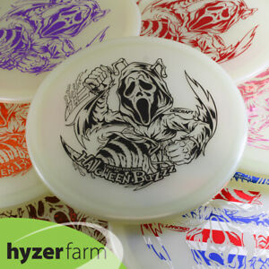 Discraft 2021 HALLOWEEN Z GLOW GHOST-FACE BUZZZ *pick color/weight* Hyzer Farm