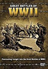 GREAT BATTLES OF WWII [DVD], Very Good DVD, ,