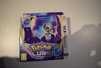 pokémon pokemon lune édition collector nintendo 2ds 3ds steelbook neuf