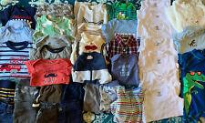 Baby Boy Clothes Lot 3-6 Months 37 Pieces Lot A1 EUC