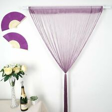 String Tassel Curtain Event Backdrop Door Window String Curtains Room Decor 12FT