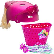 Bell Sports Barbie Bike Set Helmet Basket Bicycle Youth Girls Kids 5-8 (B STOCK)