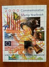 2000 USPS COMMEMORATIVE STAMP YEARBOOK IN SLEEVE with ALL 90 STAMPS INCLUDED