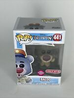 Funko POP! Disney TaleSpin Baloo #441 Vinyl Figure Target Exclusive Flocked