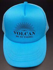 Volcan De Mi Tierra Light Blue Snap Back Hat New