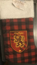 """Harry Potter Gryffindor House Crest 18/"""" Deluxe Christmas Stocking"""