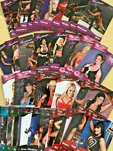 2009 TRISTAR TNA Knockouts Wrestling Cards - You Pick