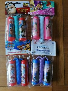 Kids Skipping Rope Toy Story Disney Princess Frozen Outdoor Game Boys Girls Toy