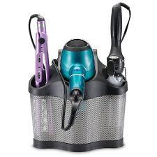 Curling Iron Blow Dryer Holder Hair Care Organizer Storage Wall Mount Bathroom
