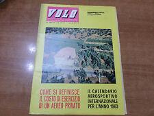 VOLO n.4 del 1963 Mensile di vita aeronautica Aero Club Italia