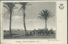 16° Cavalleggeri Lucca - Pattuglia Bengasi Guerra Italo-Turca - Viaggiata 1917