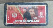 STAR WARS 1994 Metallic Images 20 Return Jedi cards Box tin set + Coa  trading