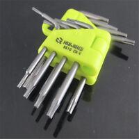 8X Wrench Tool Set T-Handle Grip Hex Hexagon Allen Key Fresh Screwdriver Driver
