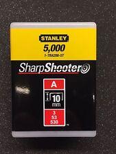 Stanley 1-TRA206-5T Agrafes Type A 10 mm 5000 St pour TR45 , TR151Y , TR150L