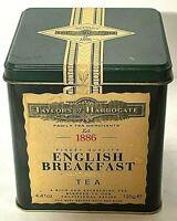 Vintage 2005 Taylors of Harrogate English Breakfast Tea Tin w/unopened loose tea