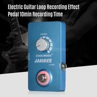 High Quality Electric Guitar Looper Effect Pedal Recording 10min Time V0B5