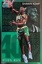 Shawn Kemp ELITE Seattle Supersonics 1994 Costacos Brothers Original POSTER