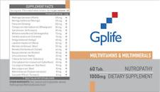 Gplife Multivitaminas & multiminerals 60tab 1000mg